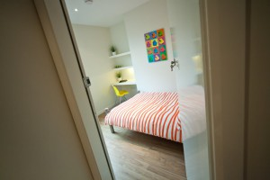 Bedroom Entrance in Preston Accommodation for Students