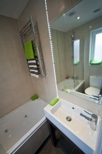 Bathroom in Preston Student Accommodation