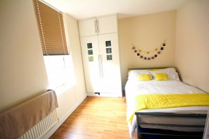 Modern stylish student bedroom for rent