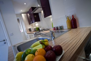 Student Lettings Kitchen in Preston Housing