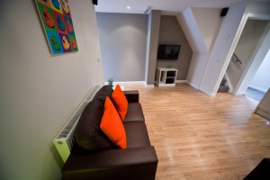 Living Area in Preston Housing for Students
