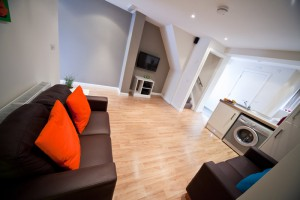 Living Area for Student Lettings in Preston