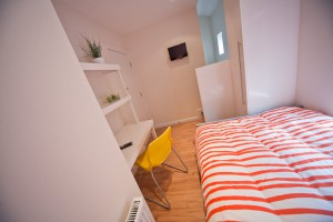 Bedroom in UCLAN Accommodation