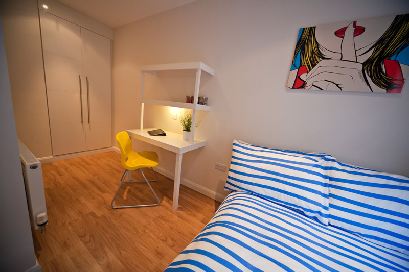 Bedroom Area in Student Lettings in Preston