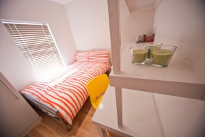 Bedroom in UCLAN Student Accommodation
