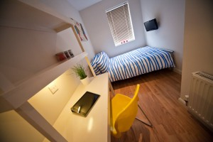 Bedroom in UCLAN Student Houses