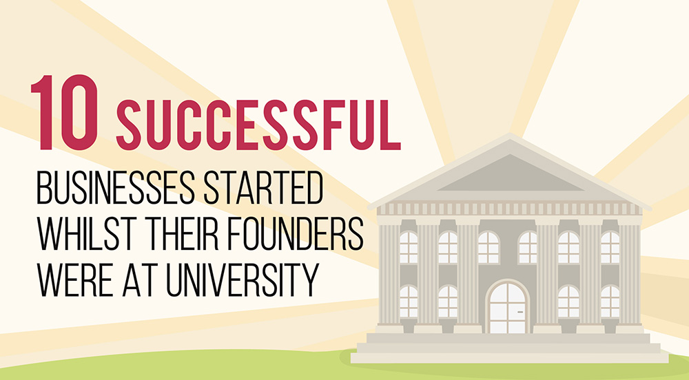 10 Successful businesses started at University